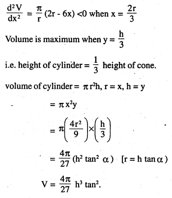 2nd PUC Maths Question Bank Chapter 6 Application of Derivatives Miscellaneous Exercise 31