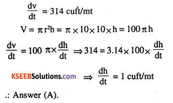 2nd PUC Maths Question Bank Chapter 6 Application of Derivatives Miscellaneous Exercise 32