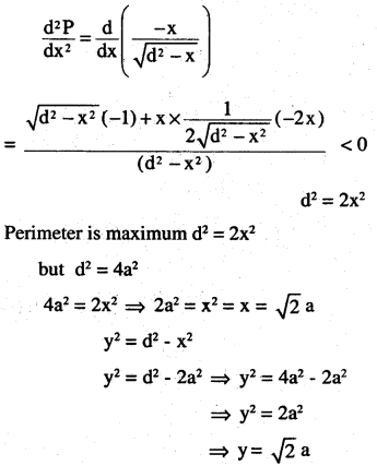 2nd PUC Maths Question Bank Chapter 6 Application of Derivatives Miscellaneous Exercise 49