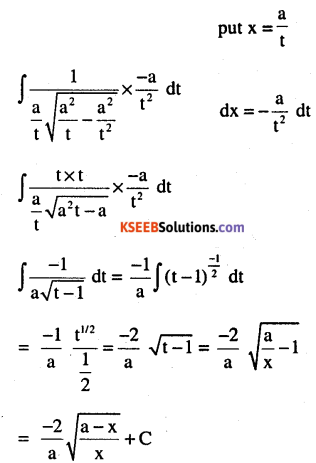 2nd PUC Maths Question Bank Chapter 7 Integrals Miscellaneous Exercise 3