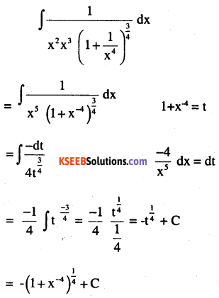 2nd PUC Maths Question Bank Chapter 7 Integrals Miscellaneous Exercise 4