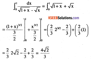 2nd PUC Maths Question Bank Chapter 7 Integrals Miscellaneous Exercise 44