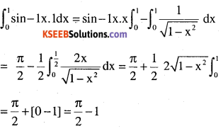 2nd PUC Maths Question Bank Chapter 7 Integrals Miscellaneous Exercise 57