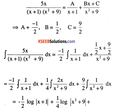 2nd PUC Maths Question Bank Chapter 7 Integrals Miscellaneous Exercise 6