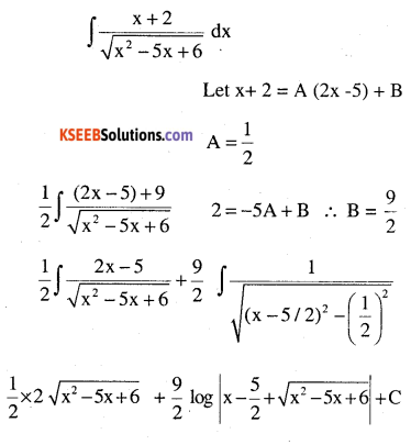 2nd PUC Maths Question Bank Chapter 7 Integrals Miscellaneous Exercise 86