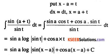 2nd PUC Maths Question Bank Chapter 7 Integrals Miscellaneous Exercise 9