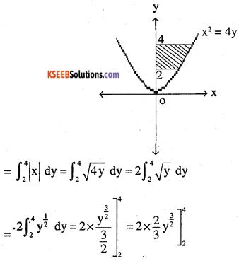 2nd PUC Maths Question Bank Chapter 8 Application of Integrals Ex 8.1.3