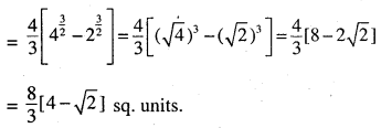 2nd PUC Maths Question Bank Chapter 8 Application of Integrals Ex 8.1.4