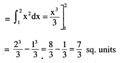 2nd PUC Maths Question Bank Chapter 8 Application of Integrals Miscellaneous Exercise 2