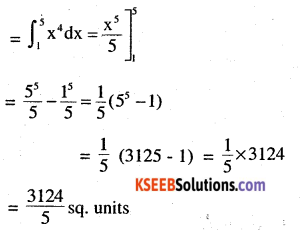 2nd PUC Maths Question Bank Chapter 8 Application of Integrals Miscellaneous Exercise 4