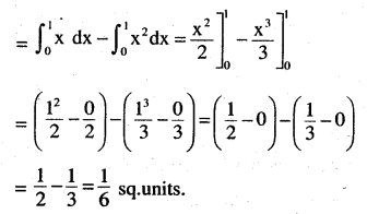 2nd PUC Maths Question Bank Chapter 8 Application of Integrals Miscellaneous Exercise 6