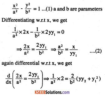 2nd PUC Maths Question Bank Chapter 9 Differential Equations Ex 9.3.3