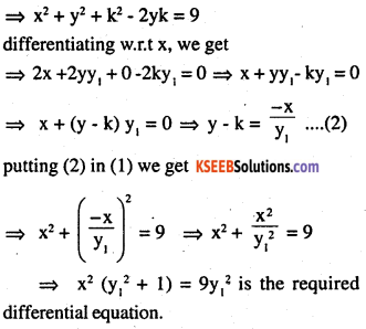 2nd PUC Maths Question Bank Chapter 9 Differential Equations Ex 9.3.5