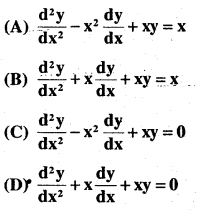 2nd PUC Maths Question Bank Chapter 9 Differential Equations Ex 9.3.8