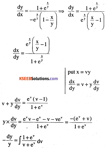 2nd PUC Maths Question Bank Chapter 9 Differential Equations Ex 9.5.17