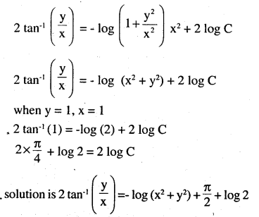 2nd PUC Maths Question Bank Chapter 9 Differential Equations Ex 9.5.20