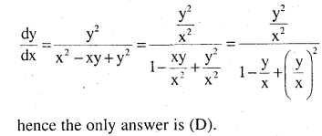 2nd PUC Maths Question Bank Chapter 9 Differential Equations Ex 9.5.28
