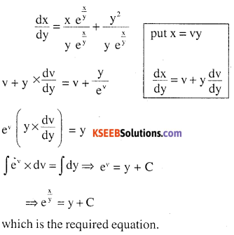 2nd PUC Maths Question Bank Chapter 9 Differential Equations Miscellaneous Exercise 13