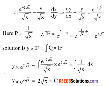 2nd PUC Maths Question Bank Chapter 9 Differential Equations Miscellaneous Exercise 14