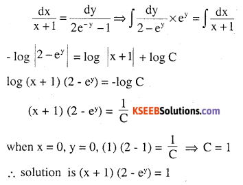 2nd PUC Maths Question Bank Chapter 9 Differential Equations Miscellaneous Exercise 16
