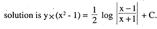 2nd PUC Maths Question Bank Chapter 9 Differential Equations Miscellaneous Exercise 26