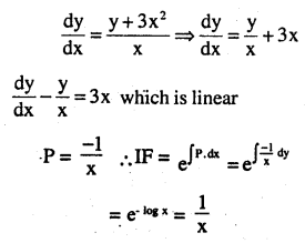 2nd PUC Maths Question Bank Chapter 9 Differential Equations Miscellaneous Exercise 34