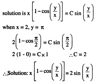 2nd PUC Maths Question Bank Chapter 9 Differential Equations Miscellaneous Exercise 42