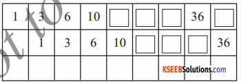 KSEEB Solutions for Class 5 Maths Chapter 10 Patterns 10
