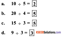 KSEEB Solutions for Class 5 Maths Chapter 2 Division 1