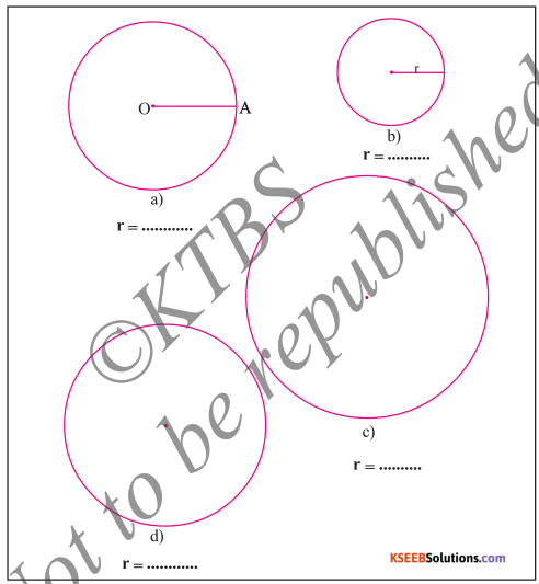 KSEEB Solutions for Class 5 Maths Chapter 7 Circles 6