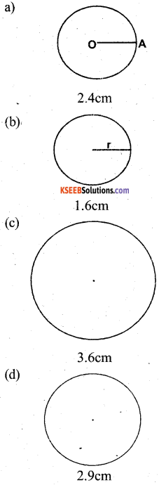 KSEEB Solutions for Class 5 Maths Chapter 7 Circles 7