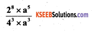 KSEEB Solutions for Class 7 Maths Chapter 13 Exponents and Powers Ex 13.2 20