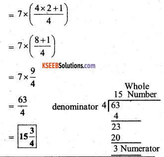 KSEEB Solutions for Class 7 Maths Chapter 2 Fractions and Decimals Ex 2.2 37