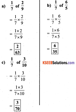 KSEEB Solutions for Class 7 Maths Chapter 2 Fractions and Decimals Ex 2.3 4