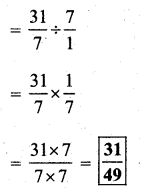 KSEEB Solutions for Class 7 Maths Chapter 2 Fractions and Decimals Ex 2.4 33