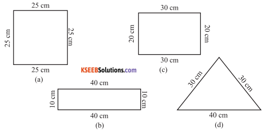 KSEEB Solutions for Class 6 Maths Chapter 10 Mensuration Ex 10.1 31
