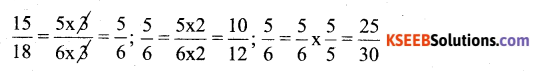 KSEEB Solutions for Class 6 Maths Chapter 12 Ratio and Proportion Ex 12.1 52