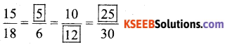 KSEEB Solutions for Class 6 Maths Chapter 12 Ratio and Proportion Ex 12.1 521