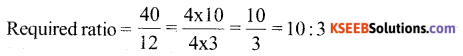 KSEEB Solutions for Class 6 Maths Chapter 12 Ratio and Proportion Ex 12.1 75