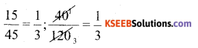 KSEEB Solutions for Class 6 Maths Chapter 12 Ratio and Proportion Ex 12.2 1