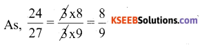 KSEEB Solutions for Class 6 Maths Chapter 12 Ratio and Proportion Ex 12.2 27