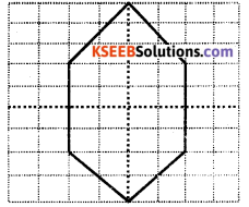 KSEEB Solutions for Class 6 Maths Chapter 13 Symmetry Ex 13.2 14