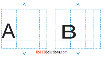 KSEEB Solutions for Class 6 Maths Chapter 13 Symmetry Ex 13.3 5