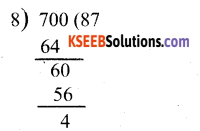 KSEEB Solutions for Class 6 Maths Chapter 3 Playing with Numbers Ex 3.3 23