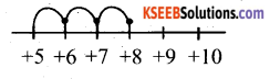 KSEEB Solutions for Class 6 Maths Chapter 6 Integers Ex 6.2 1