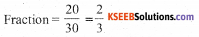 KSEEB Solutions for Class 6 Maths Chapter 7 Fractions Ex 7.1 20