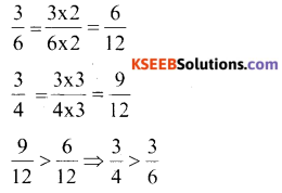 KSEEB Solutions for Class 6 Maths Chapter 7 Fractions Ex 7.4 661