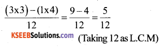 KSEEB Solutions for Class 6 Maths Chapter 7 Fractions Ex 7.6 14
