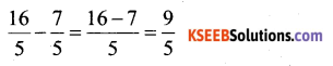 KSEEB Solutions for Class 6 Maths Chapter 7 Fractions Ex 7.6 271