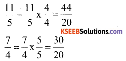KSEEB Solutions for Class 6 Maths Chapter 7 Fractions Ex 7.6 41